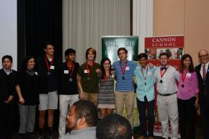 2nd Place Academic WorldQuest 2013 Winners: Charlotte Country Day
