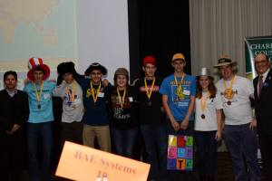 3rd Place Academic WorldQuest 2013 Winners: Providence Day School