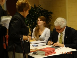 "Book signing with Joseph Cirincione, President of Ploughshares Fund and author of ""Nuclear Nightmares: Securing the World Before It Is Too Late"" — at Hilton Charlotte Center City."